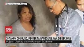 VIDEO: 20 Tahun Dikurung, Penderita Gangguan Jiwa Dibebaskan