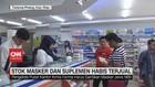 VIDEO: Stok Masker dan Suplemen di Natuna Habis Terjual