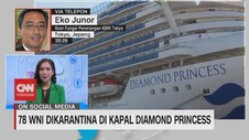 VIDEO: 78 WNI Dikarantina di Kapal Diamond Princess