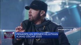 Tengok Aksi Eminem Kejutkan Panggung Oscar 2020