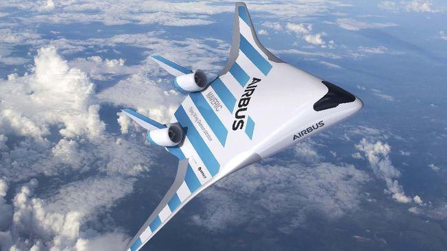 Prototipe Airbus Model Baru Mengangkasa