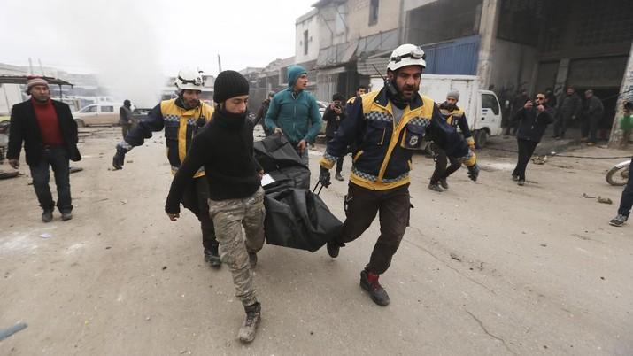 Panas Lagi! Israel Bombardir Damaskus, 7 Orang Tewas