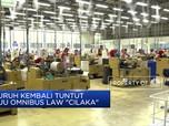 Buruh Kembali Tuntut RUU Omnibus Law
