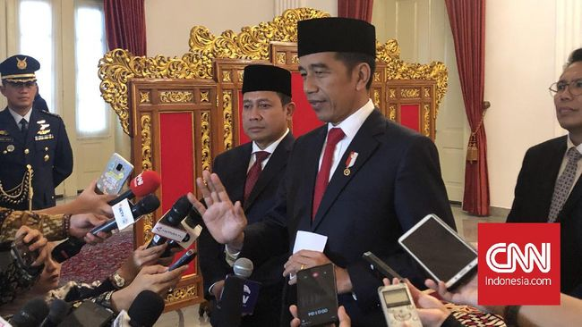 Virus Corona, Jokowi Minta WNI dari Wuhan Diterima Apa Adanya