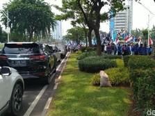 Buruh Bergerak! Tolak Omnibus Law, Sampai Bikin Macet