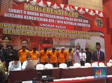 Terbongkar Lagi, Mafia Tanah Tertangkap di Jakarta