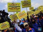 Istana Buka Suara Soal 'Bola Panas' di Omnibus Law
