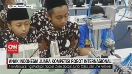 VIDEO: Anak Indonesia Juara Kompetisi Robot Internasional