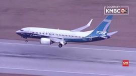 VIDEO: Pesawat Boeing 737 Max Jalani Tes Terbang