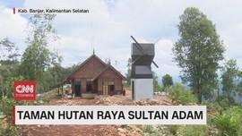 VIDEO: Sejuknya Taman Hutan Raya Sultan Adam