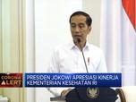 Ini Apresiasi Jokowi ke Kemenkes RI