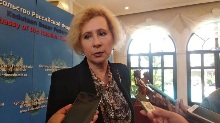 Demikian disampaikan Duta Besar Rusia untuk Indonesia Lyudmila Georgievna Vorobieva dalam temu media di Jakarta, Rabu (12/2/2020).