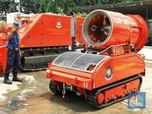 Intip Robot Pemadam Kebakaran DKI Berharga Miliaran Rupiah