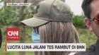 VIDEO: Lucinta Luna Jalani Tes Rambut di BNN