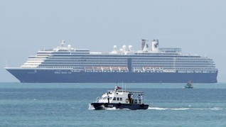 AS, Kanada, Italia, Bakal Jemput Warga di Kapal Pesiar Jepang