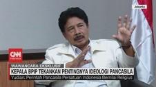 VIDEO: Kepala BPIP Jawab Kontroversi Pancasila Dan Agama