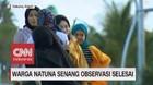 VIDEO: Warga Natuna Senang Observasi Selesai