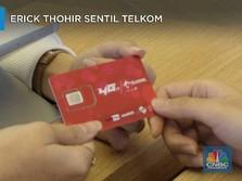 Erick Thohir Sentil Telkom, Ada Apa Gerangan?