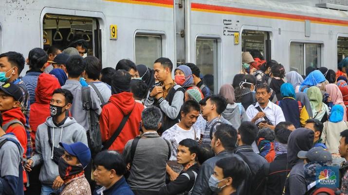 Ganti Wesel, 11 Hari KRL Bogor-Bekasi Cuma Sampai Manggarai
