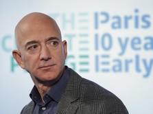 Saham Amazon Melonjak, Kekayaan Jeff Bezos Melesat