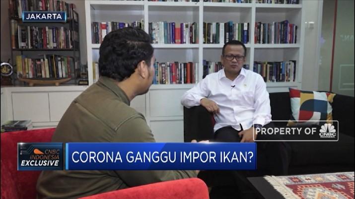 Streaming! Jurus KKP Tangkal Corona dari Impor Ikan