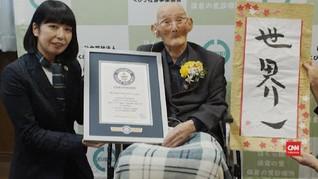 VIDEO: Watanabe, Pria Tertua Dunia dari Jepang