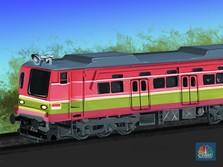 Kereta Made in Indonesia Mampu 'Keliling' Dunia