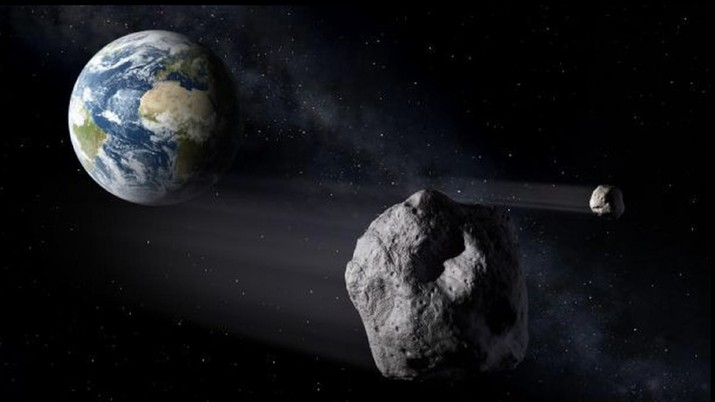 Tentang dua asteroid yang mendekati Bumi (NASA). (Ist)