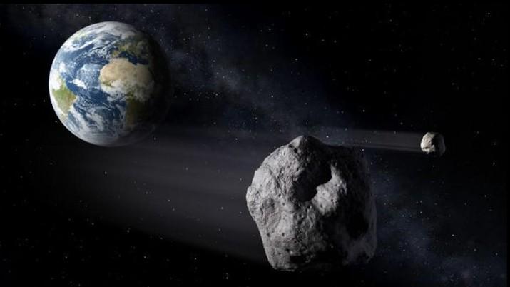 Asteroid Raksasa Dekati Bumi Besok, Perlukah Khawatir?