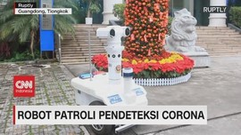 VIDEO: Robot Patroli Pendeteksi Corona