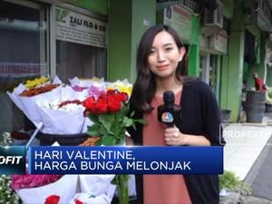 Hari Valentine, Harga Bunga Melonjak!