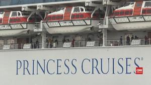 VIDEO: Jepang Evakuasi Lansia di Kapal Pesiar Sumber Corona