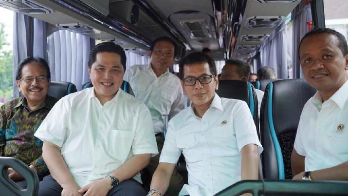 Setidaknya 7 kementerian keroyokan garap revitalisasi pelabuhan Benoa, dipimpin Erick Thohir