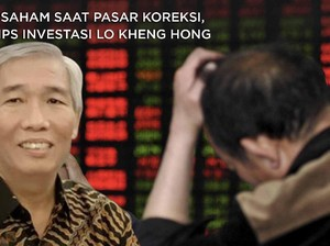 Beli Saham Saat Pasar Turun, Ini Tips Investasi Lo Kheng Hong