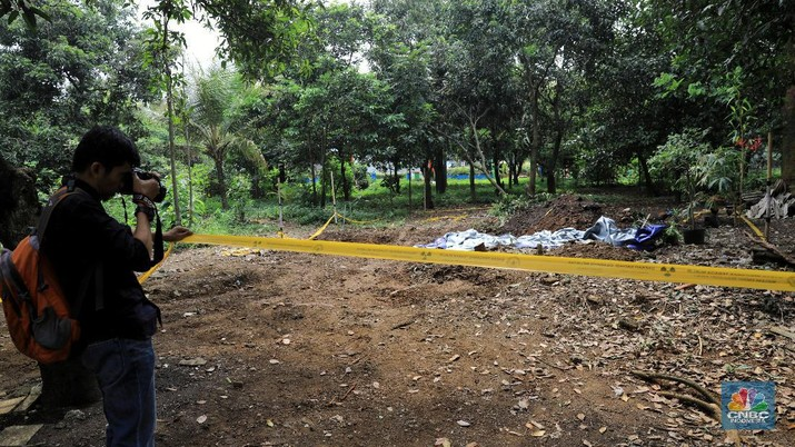 Badan Pengawas Tenaga Nuklir masih fokus membersihkan sisa-sisa paparan radioaktif di Perumahan Batan Indah, Serpong, Tangerang Selatan.
