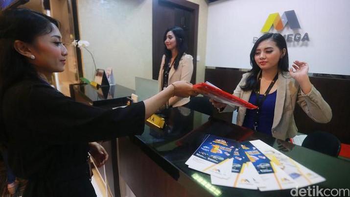 Kantor Kas Bank Mega di TSM Bali (dok: Detikcom)