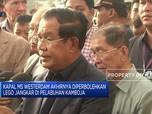Perdana Menteri Kamboja Sambut Penumpang MS Wasterdam