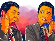 Terungkap! Ini Topik Utama Perbincangan Jokowi & Xi Jinping