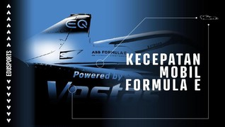 Edusports: Kecepatan Mobil Formula E