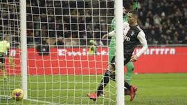 Penalti Ronaldo Sudah Lima Kali Selamatkan Juventus Musim Ini