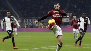 Antiklimaks Ibrahimovic-Ronaldo di Milan vs Juventus