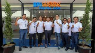 BRIWork, Kantor Bank Terintegrasi Coworking Space Pertama