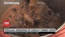 VIDEO: Menjajal Kesegaran Es Coklat Tambah Umur
