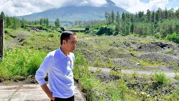 Merapi Rentan Erupsi, Ini Cara Jokowi Antisipasi Banjir Lahar