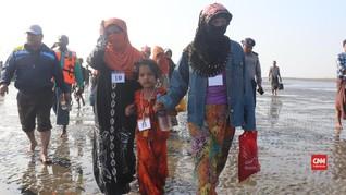 VIDEO: 48 Pengungsi Rohingya ditangkap di Pantai Myanmar