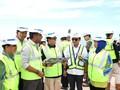 BPH Migas Kunjungi Proyek Penyuplai LNG di Pelabuhan Kijing