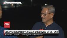 VIDEO - Kemenkes: Selama Observasi, Semua WNI di Natuna Sehat