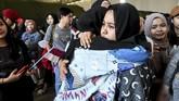 Perwakilan World Health Organizastion (WHO) di Indonesia N Paranietharan memastikan ratusan warga dalam keadaan sehat dan tidak ditemukan indikasi virus Corona. (ANTARA FOTO/Muhammad Adimaja/wsj).