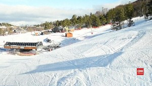 VIDEO: Pemilik Resor Ski di Alpen Khawatirkan Penipisan Salju