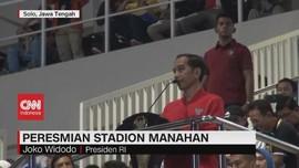 VIDEO: Jokowi Resmikan Stadion Manahan Solo